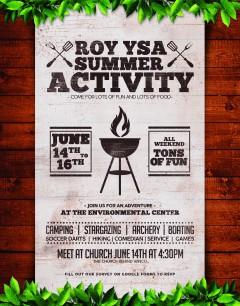 Roy YSA Summer Activity